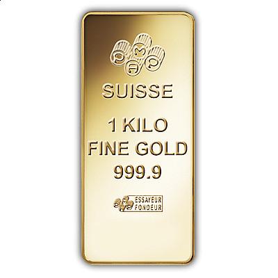 Pamp 1000 Gram Fortuna Gold Bar In Carbonite Box
